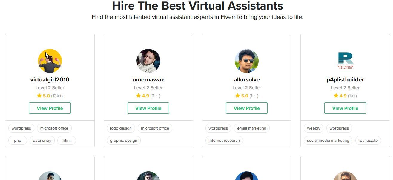 how much does it cost to hire a virtual assistant