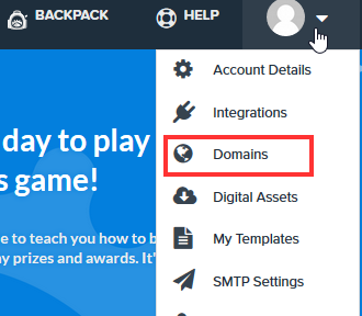 clickfunnels set up domain