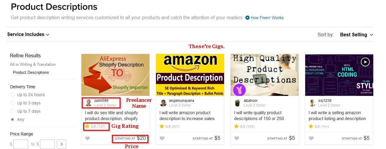 amazon product description writer1
